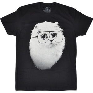 Hipster Cat Tee